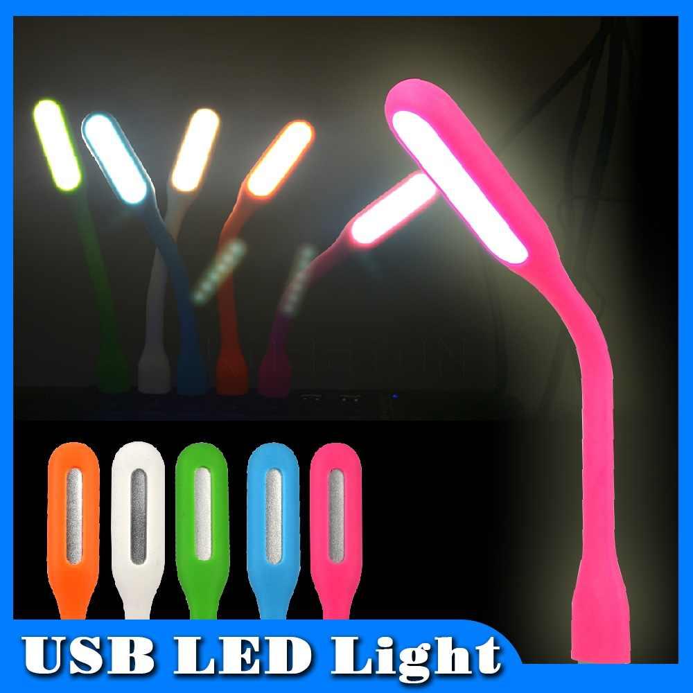 Kebidumei Mini lampa LED Xiaomi USB LED jasność światła USB do laptopa Power bank przenośne oświetlenie LED