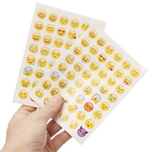 1pcs Cut Sticker 48 Classic Emoji Smile Face Stickers For Notebook Albums Message Twitter Large Viny
