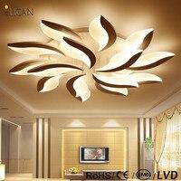 New Flower DIY Acrylic Led Ceiling Lights Living Room Bedroom Hallway Home Ceiling Lamp Acrylic Aluminum