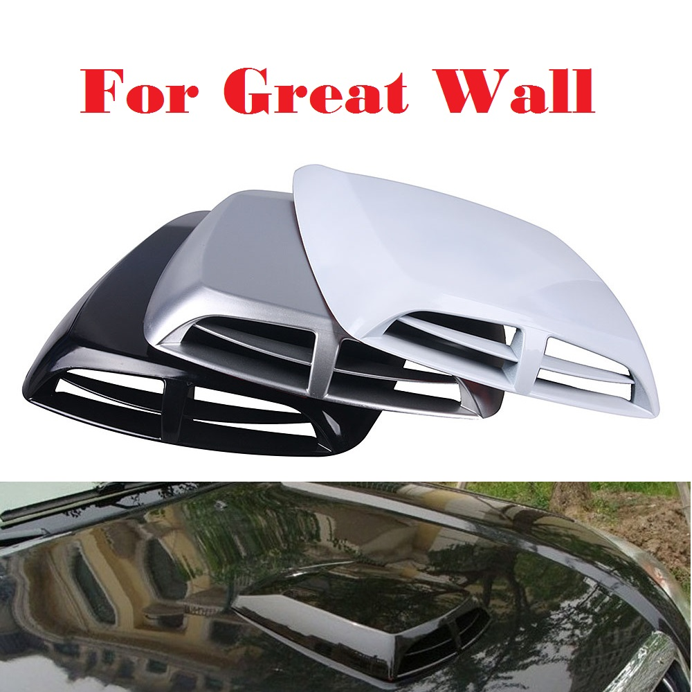 Abs Functional Hood Air Flow Vent Cooling Duct Car stickers for Great Wall Hover M1 Hover M2 Hover M4 Pegasus Peri Safe Sing RUV