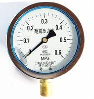 YN 100 full range of seismic / seismic pressure gauge pressure gauge and vacuum gauge Shanghai Zhengbao pressure meter factory| | |  -
