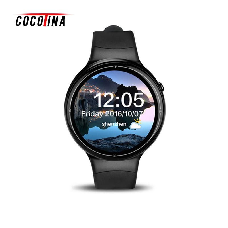 COCOTINA Smart Watch Light Full Circle Screen 3G SIM Card Sleep Monitor Wifi Heart Rate Payment Support GPS Positioning LSB01367 other voices full circle cd