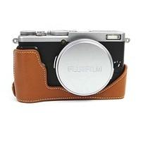 High Quality 3 Colors Photo Bag Genuine leather Camera Bag Case For Fuji X70 Digital Camera Shoulder Bags Backpack Cases