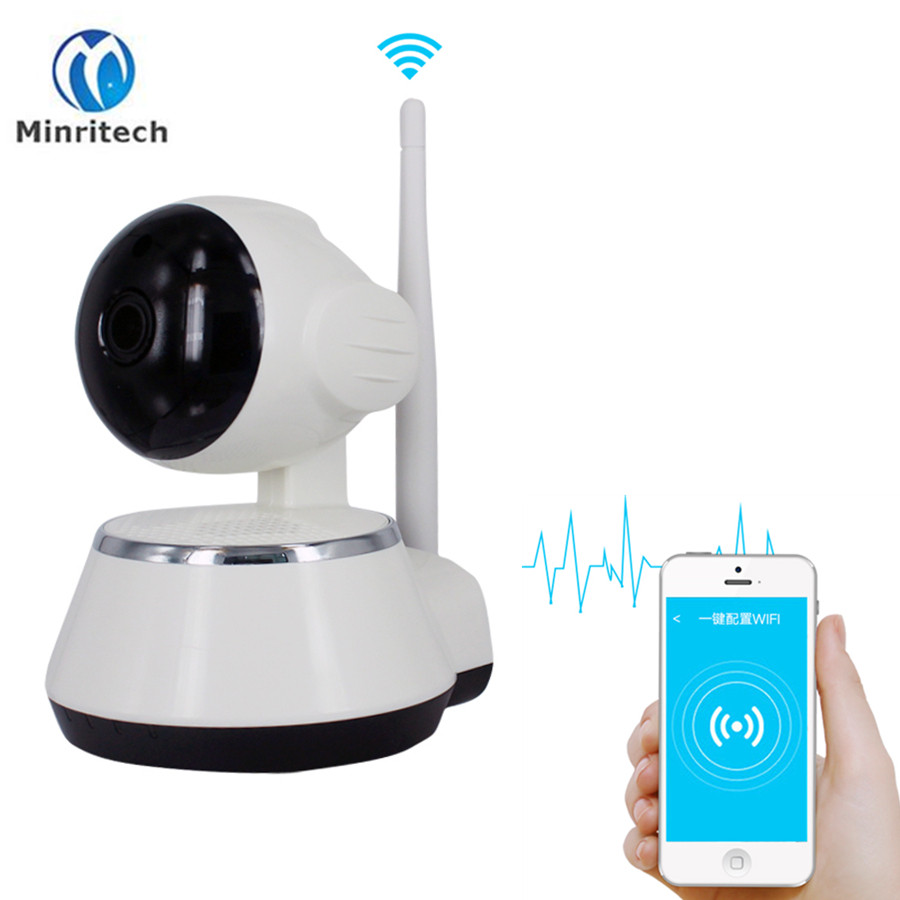 720P IP Camera Wifi Security Cameras Home Alarm Surveillance Camera IR Night Vision Baby Monitors Onvif Two Way Audio PTZ