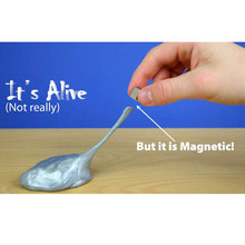 Magnetic Plasticine Mud Magnetic Silly Putty Handgum Magnet Smart Clay Kids Creative Toys For Children Gift Playdough CL0623H