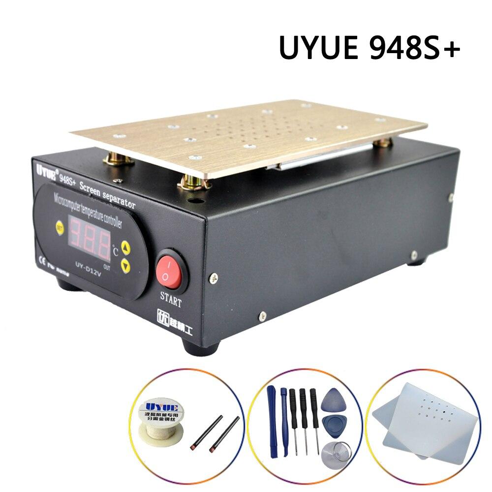 Separator Machine UYUE 948S  LCD screen separation 7inch Build-in Pump Vacuum Screen Repair Kit For Smart Phone  iPhone  Samsung