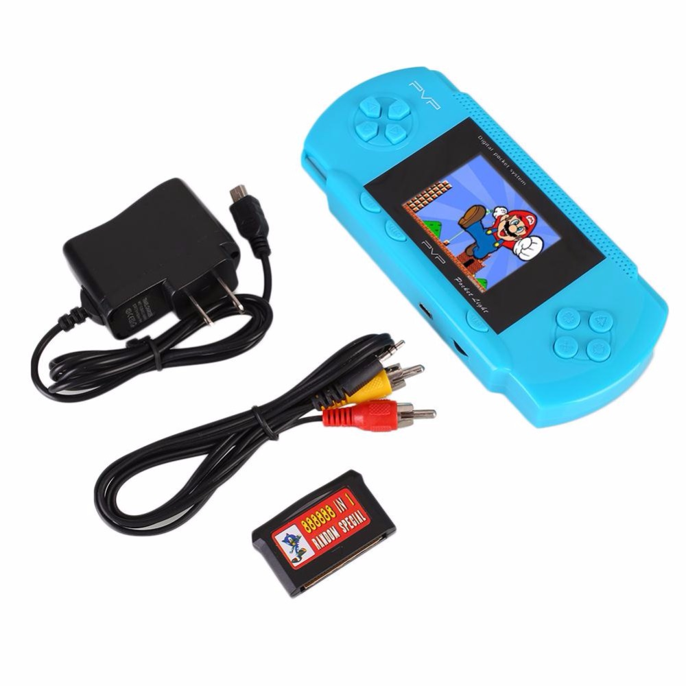 Original For PVP 8 bit Handheld Game Console Professional Portable Handheld Game Players Gift with