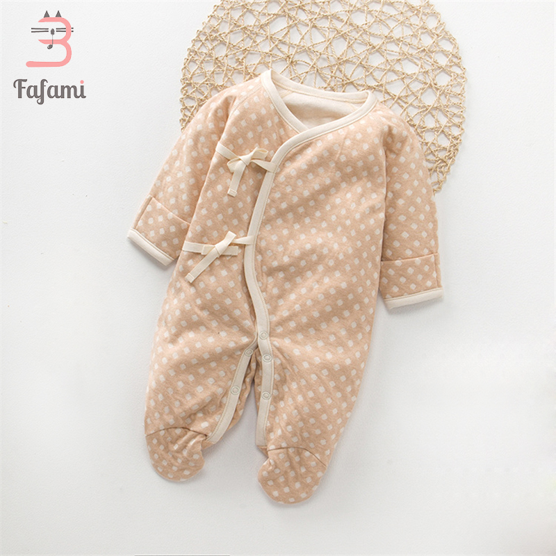Fafami Brand Baby   Rompers   Long Sleeves Cotton Newborn Baby Clothing Fashion Baby boy girl Pajamas Infant bebe Clothes jumpsuit