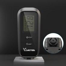 VDIAGTOOL VC100 coche medidor de espesor Medidor para la pintura del coche medidor de luz de fondo con LCD de espesor de revestimiento de pintura medidor de espesor