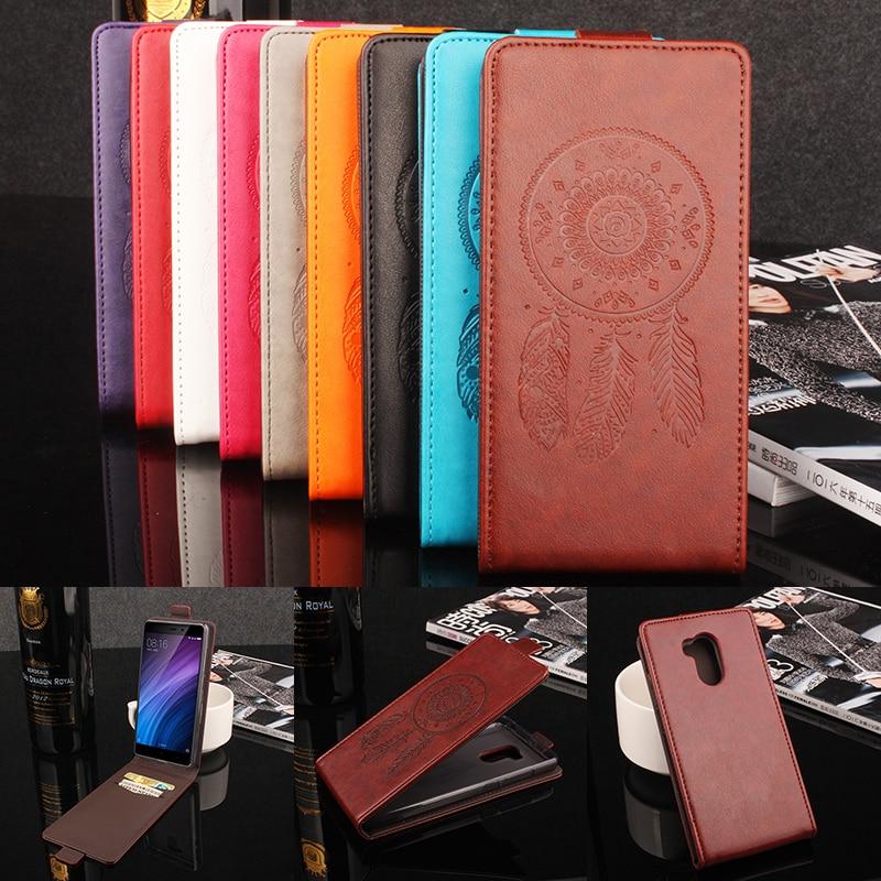 Xiaomi Redmi 4 Pro Cover Färgglada Flip Leather Cover Fodral till Xiaomi Redmi 4 Pro Prime vertikal bakomslag till Redmi 4 Pro