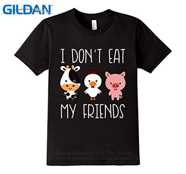 Aliexpress.com : Buy Cool T Shirt Companies Gildan I Don'T Eat My ...