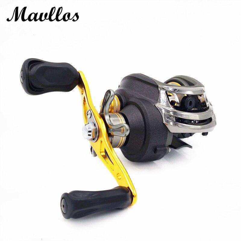 ФОТО Mavllos Japan import Brand 18BB Baitcasting Reel Saltwater carp fishing reels bait casting reel Left Right Hand lure reel