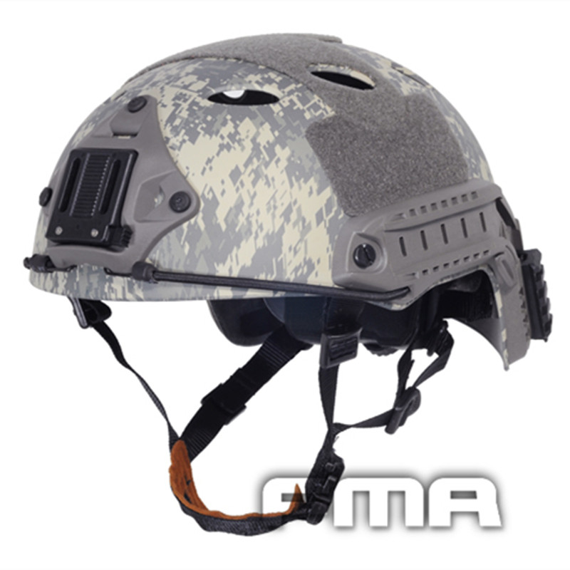 2017 FMA Tactical FAST Helmet-PJ Type Airsoft MOLLE Gear For Hunting Camping Outdoor Stport Free Shipping Multicam (L/XL) TB465 2017new fma maritime tactical helmet abs de bk fg for airsoft paintball tb815 814 816 cycling helmet safety