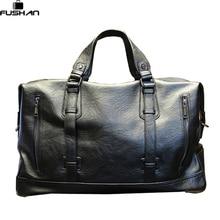 Mode Für Männer Reisetaschen Marke gepäck Wasserdicht koffer seesack Große Kapazität Taschen casual Hohe kapazität leder handtasche