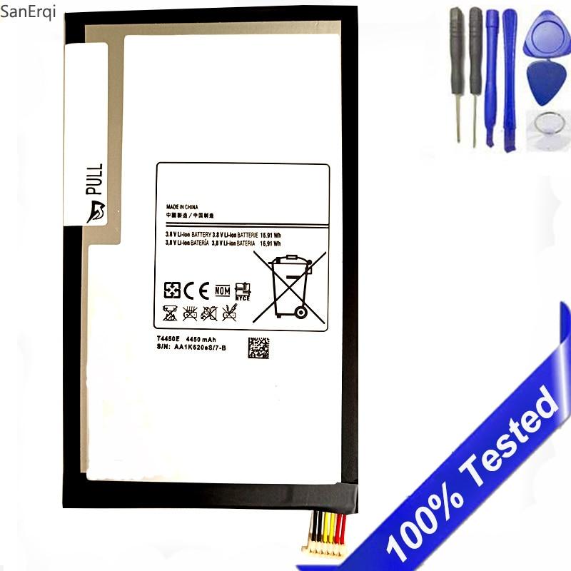 Para Samsung GALAXY Tab 3 8,0 T310 T311 batería T315 SM-T310 SM-T311 E0288 E0396 4450mAh Tablet T4450E