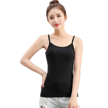 Women Camis Leisure Modal summer 2019 Solid color Sexy vogue Slim fit Vest bottoming shirt New arrive fashion brand