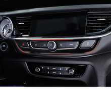 Lsrtw2017 Carbon Fiber Abs Car Sound Player Adjust Panel for Buick Regal Opel Insignia 2018 2019 2020