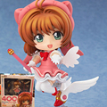 400# Cute Nendoroid Card Captor Cardcaptor Sakura  PVC Action Figure Set Model Collection Toy Gift 10cm