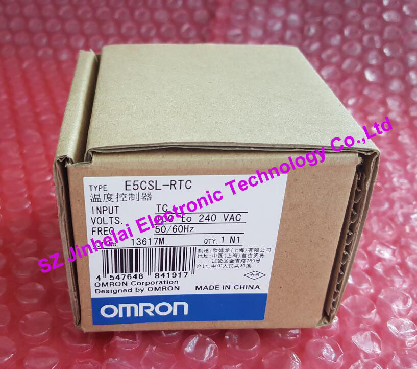 100%New and original E5CSL-RTC, E5CSL-QTC OMRON Temperature controller все цены