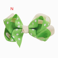 100pcs Boutique Lush Hair Bow with Spikey Edges Fun Summer Party hairbow