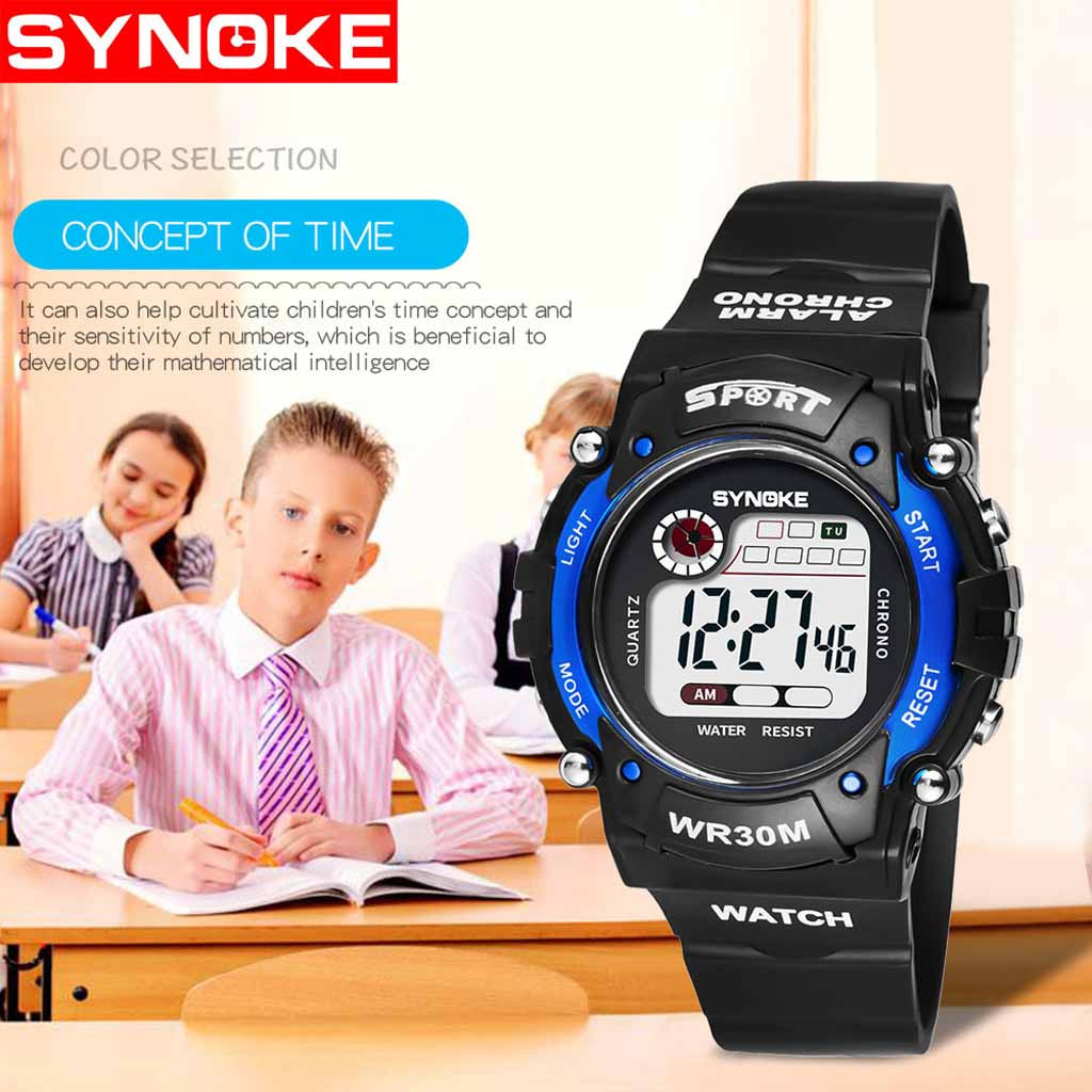 Luminous Waterproof Multifunctional Children Student Electronicsmart Kids Sport Watches For Teenagers Waterproof Gifts For Kids