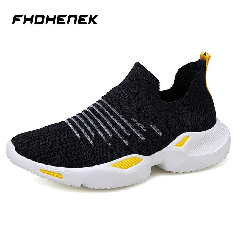 2019 nouveau Mesh hommes chaussures décontractées hauteur augmentant hommes baskets léger confortable respirant chaussures de marche Tenis Feminino Zapatos