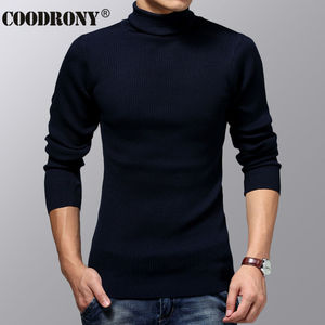 Image 5 - COODRONY Turtleneck Sweater Men Winter Thick Warm Wool Sweaters Christmas Knitted Cashmere Pullover Men Slim Fit Jersey Man 6703