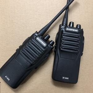 Image 2 - 2 sztuk baofeng 999S walkie talkie UHF 400 470mhz 5W potężny dwukierunkowy radio 16 kanałowy + kabel programowy