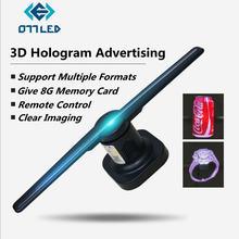 3d голографический рекламный дисплей Светодиодный проектор визуализация
