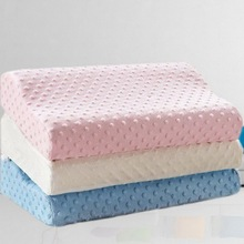 Soft Pillow Massager For Cervical Health Care Memory Foam Pillow Orthopedic Pillow Latex Neck Pillow Fiber Slow Rebound for home xiaomi pillow 8h z2 natural latex elastic soft pillow neck protection cushion best environmentally safe material for smart home