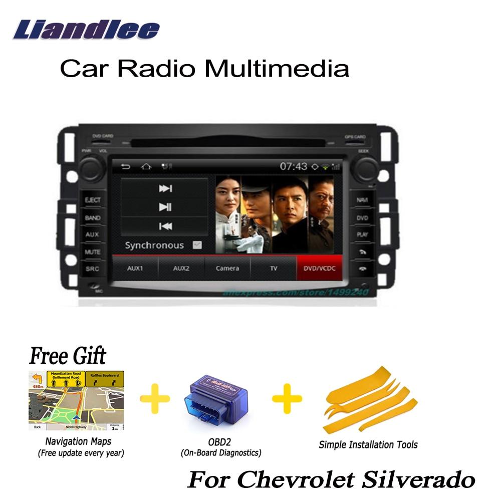 Liandlee For Chevrolet Silverado 20072011 2 Din Car Android Gps Rhaliexpress: 2007 Chevy Silverado Double Din Radio At Gmaili.net