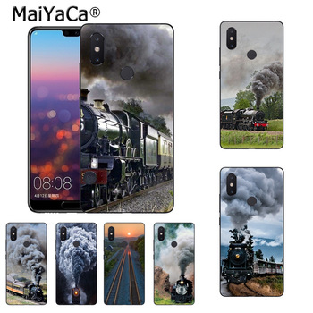MaiYaCa train going uphill New Arrival Fashion phone case cover for xiaomi mi 8se 6 note2 note3 redmi 5 plus note5 cover image