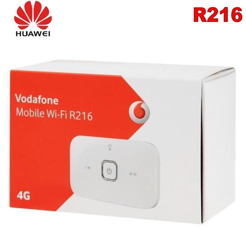 Nouveau routeur sans fil HUAWEI Vodafone R216 4G débloqué 150 Mbps poche Hotspot mobile Mifi 4G voiture wifi PK E5573 E5577 ZTE XIAOMI