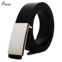 New Fashion Designer Belt High Quality Genuine Leather Belt Men Cowhide Letter Metal S Buckle Business