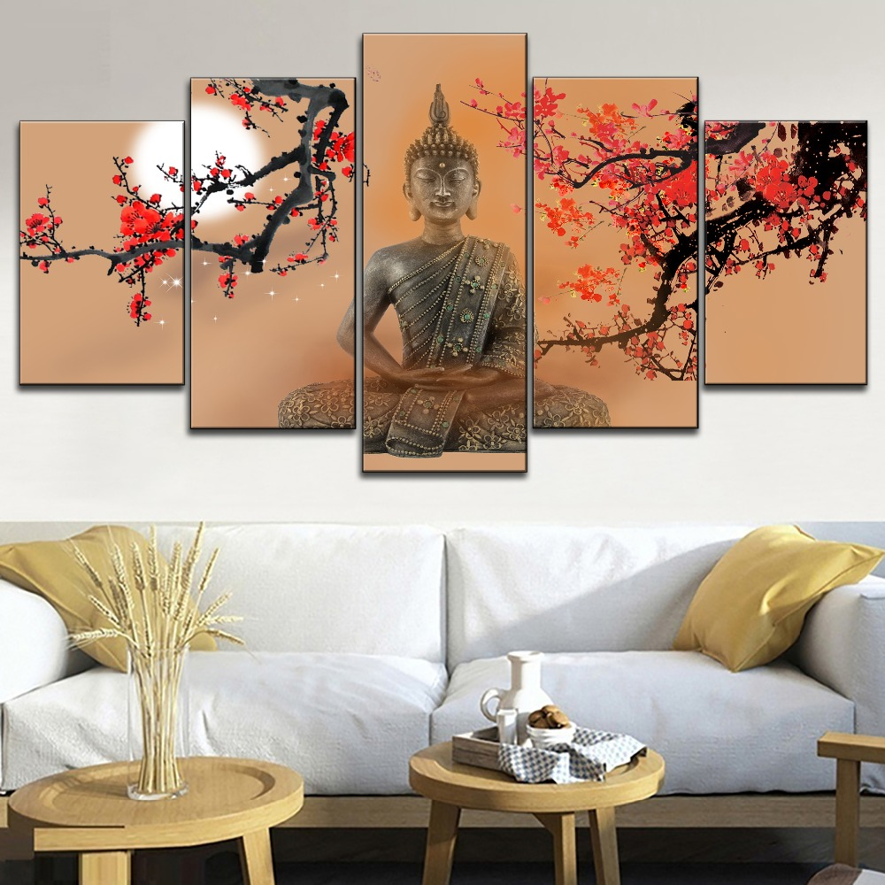 JAPANESE GARDEN BLOSSOMS TOKYO CANVAS PRINT PICTURE WALL ART HOME DECOR FREE P/&P
