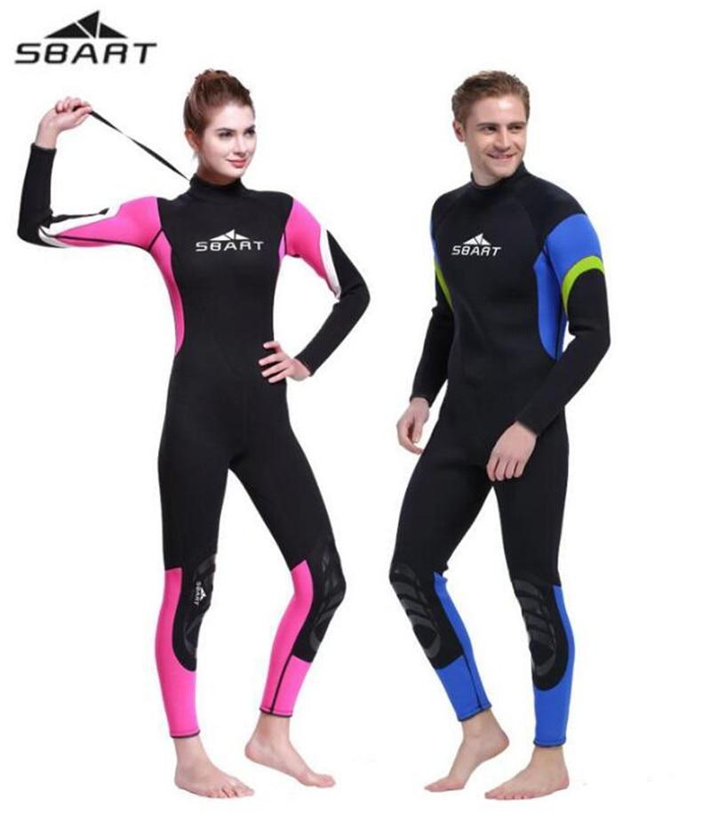 SBART 3MM Neoprene diving Wet suit Women Surfing Wetsuits 3MM Men WetSuits Surfing Spearfishing Wetsuit Diving Suit sbart upf50 924