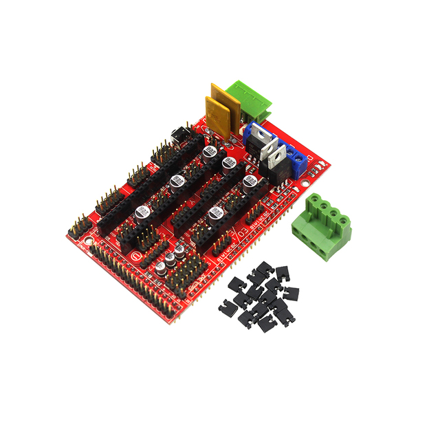 RAMPS 1.4 3D Printer Controller Board Shield for Arduino MEGA RepRap