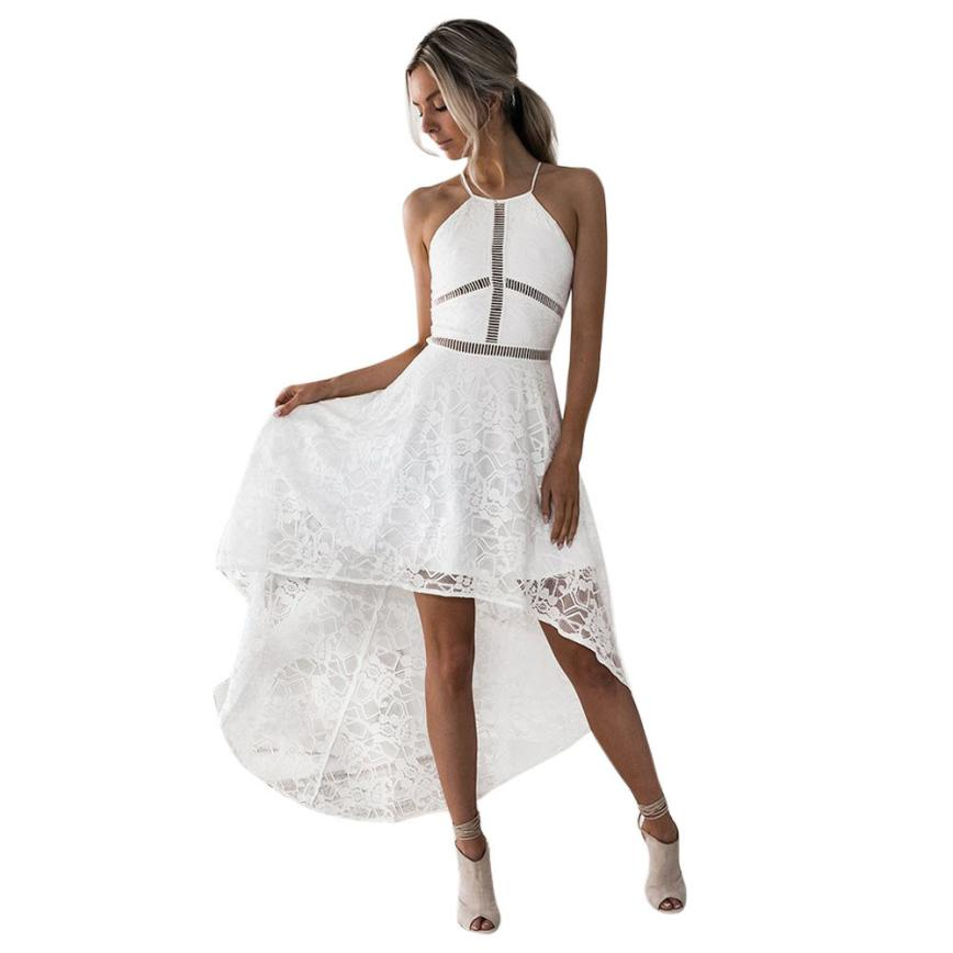 Womens Sleeveless Formal Prom Party Wedding Ball Gown s lady dresses for party and wedding