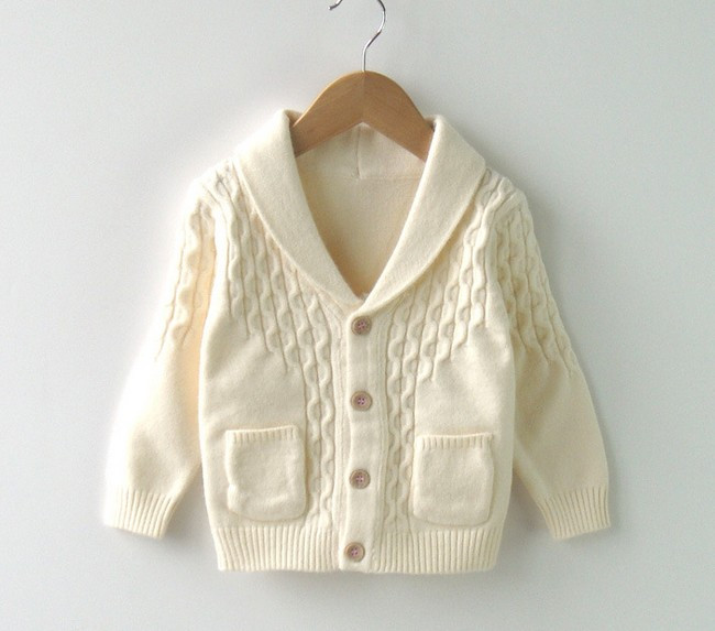 070f82dccdd1 12M to 3T baby   kids boys shawl collar casual knitted sweater coat ...
