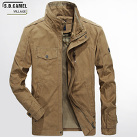 2017 New Spring And Autumn Men S Casual Jacket Middle Aged Zipper Cotton Jean Thin Military