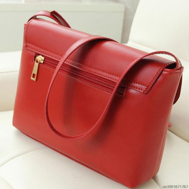 Hot Sale Heart Women Leather Handbags CrossBody Shoulder Bags Fashion Messenger Bags Small Women Bags
