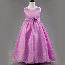 2015 летний новый кружева одежды для девочек девушка платье принцессы 2 — 16 лет ребенок одежда для детей ну вечеринку одежда девушки цветка