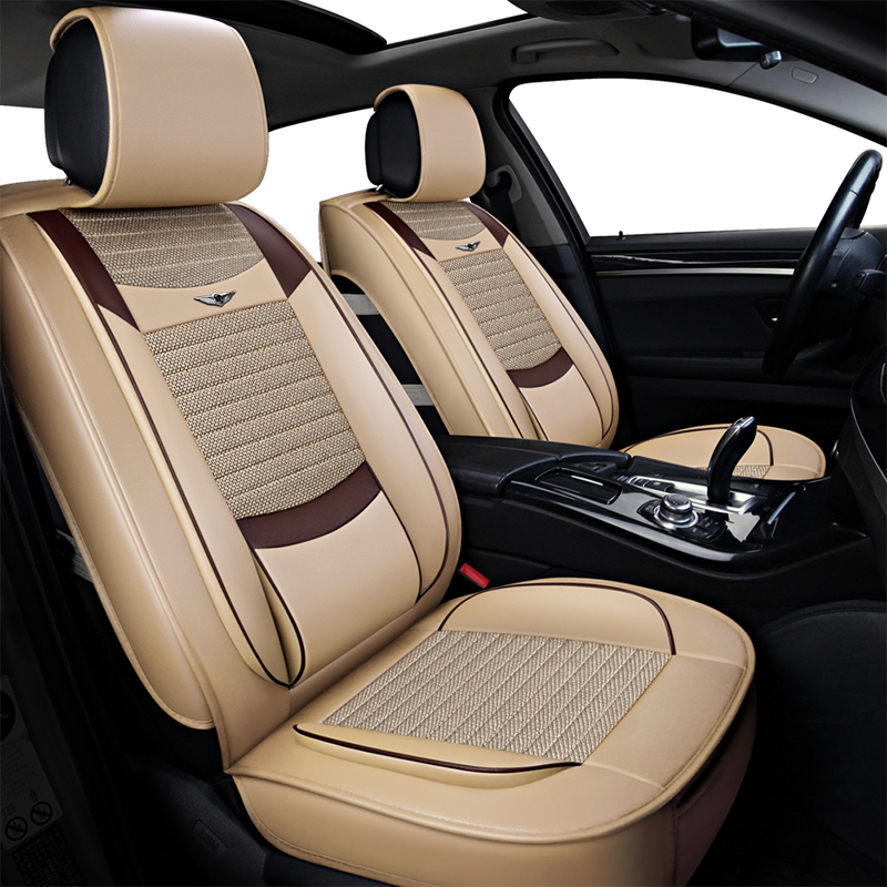 Le siège Auto universel avant et arrière de simili cuir polyuréthane de luxe couvre les housses de siège automobile pour MG GT MG5 MG6 MG7 mg3 mgtf