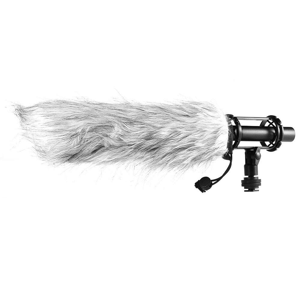 BOYA BY-PVM1000L Professional Condenser Microphone 3-Pin XLR Super-Cardioid Directional Mic for Camcorder Video DSLR Smartphone