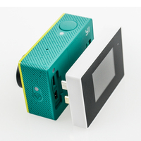 Tekcam voor Xiaomi yi 1.38 Inch av-uitgang scherm LCD voor xiaomi Yi xiao yi action Camera Accessoires