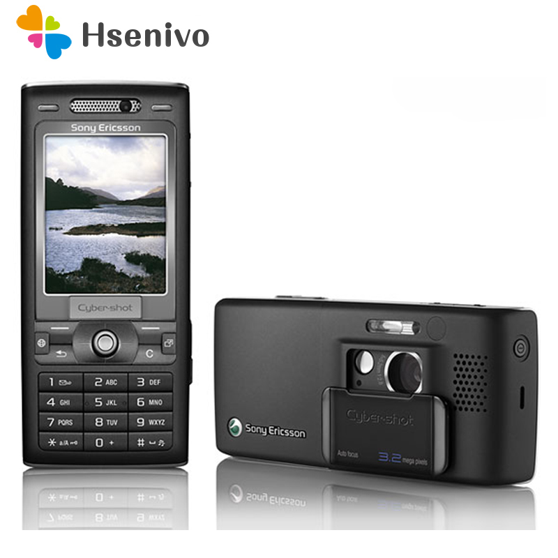 Sony Ericsson K800c 3G GSM/WCDMA Refurbished Cell-Phone Camera Fm-Radio Bluetooth Unlocked title=