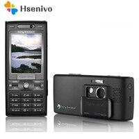 K800i 100% Original Unlokced Sony Ericsson K800 Mobile Phone 2G Bluetooth 3.2 MP Camera FM Unlocked Cell Phone Free shipping