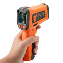 PEAKMETER PM6530D High Precision No-contact Digital Infrared Thermometer -50~800 degrees Temperature Thermometer(China)