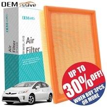 Для Toyota Prius V Plus Alpha 2012- комплект воздушных фильтров для двигателя автомобиля 17801-0T050 2013 17801-37020 17801-37021 1.8L