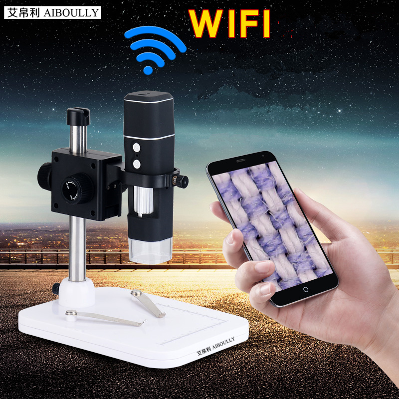 WIFI digital microscope 500 times the high-definition electronic magnifying glass repair diagnostic tool Wireless connections  цены